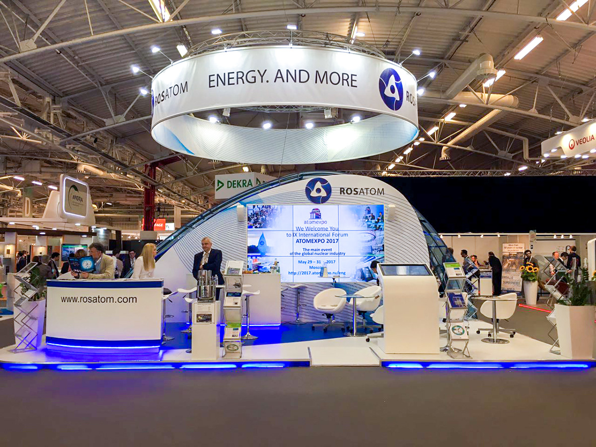Проект «Прорыв» представили на Всемирной ядерной выставке в Париже