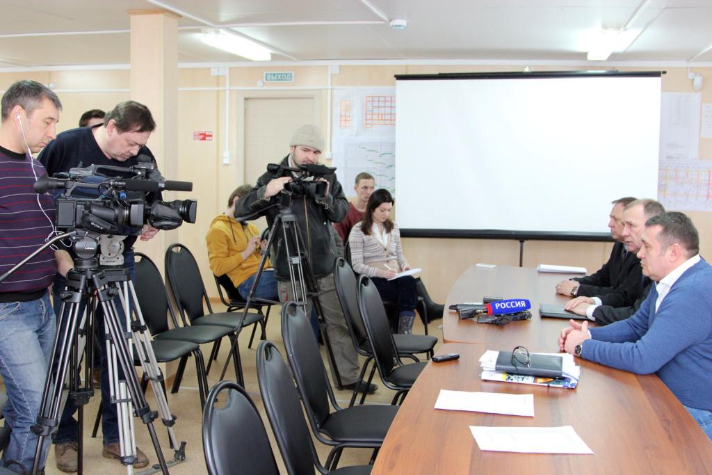 Журналисты впервые посетили стройплощадку Прорыва ГК Росатом