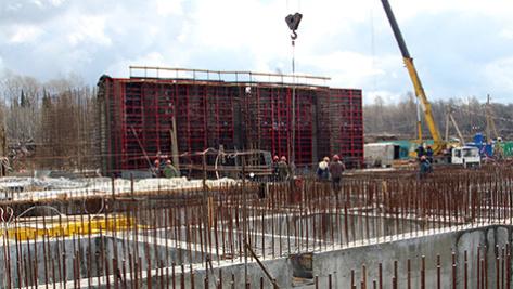 Фото со строительной площадки проекта Прорыв
