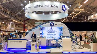 Проект «Прорыв» представили на Всемирной ядерной выставке в Париже WNE