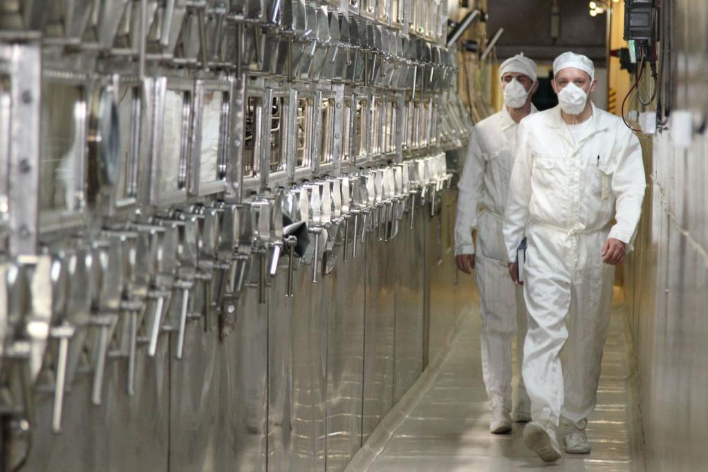 Проект прорыв на территории СХК модуль переработки ОЯТ