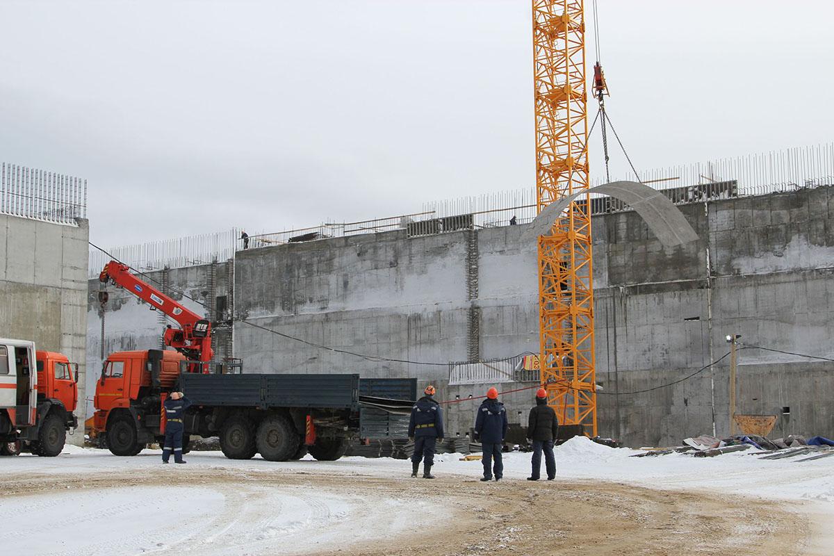 строительство ОДЭК с реакторной установкой «БРЕСТ-ОД-300»