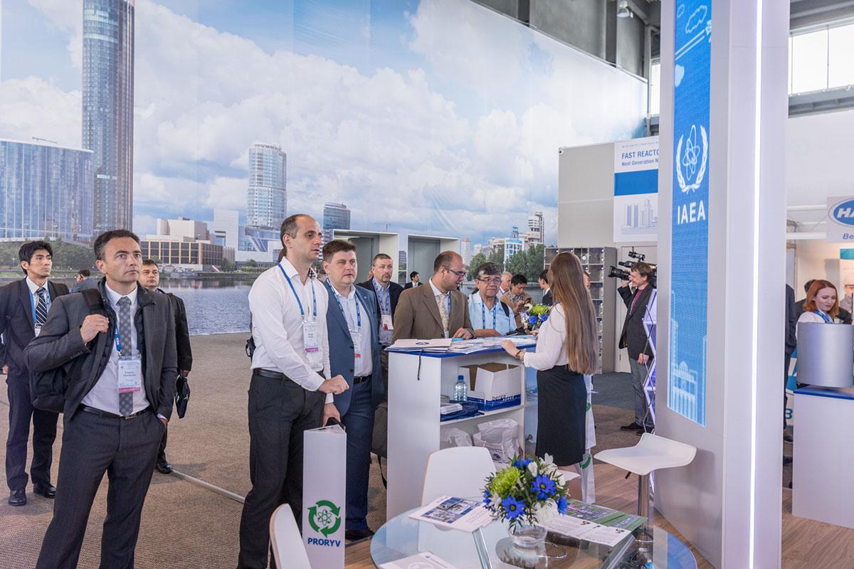 Россия продемонстрировала проект Прорыв на FR17