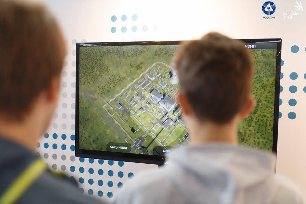 Росатом представил проект «Прорыв» на WorldSkills Hi-Tech 2017 005