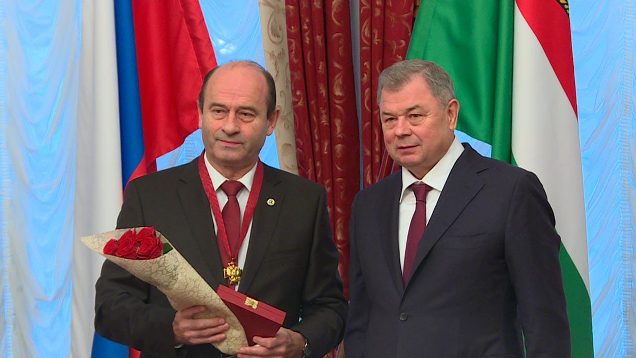 Главный радиоэколог проектного направления «Прорыв» Виктор Иванов награжден орденом «За заслуги перед Отечеством» III степени