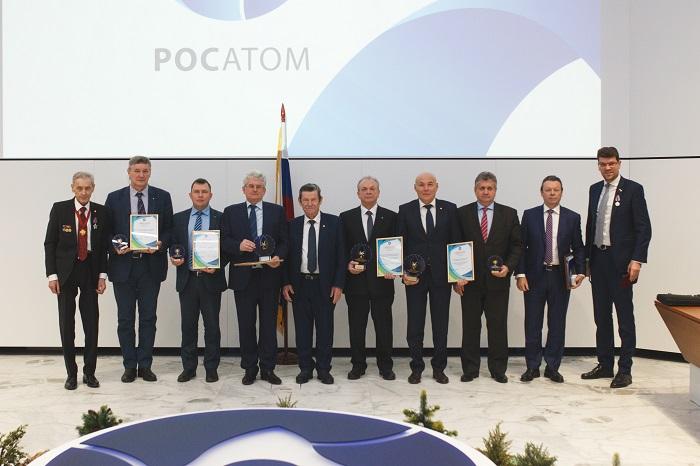 вручение наград победителям конкурса «Экологически образцовая организация атомной отрасли» за 2017 год