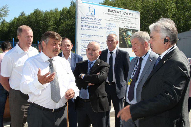 Депутаты Комитета Государственной Думы РФ ознакомились с ходом реализации проекта Прорыв